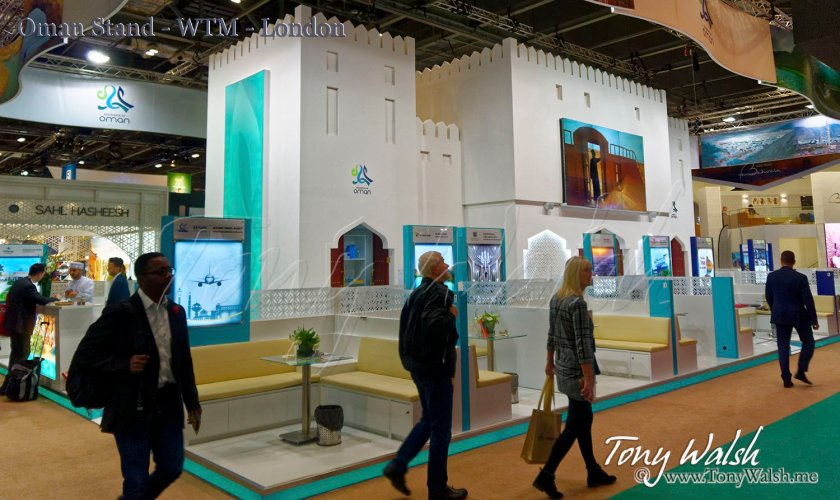 Oman Stand - WTM