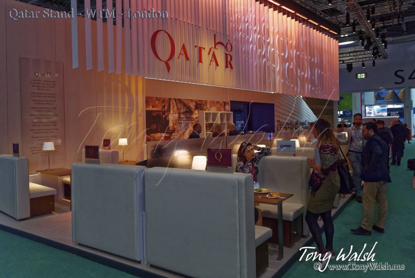 Qatar Stand - WTM - London