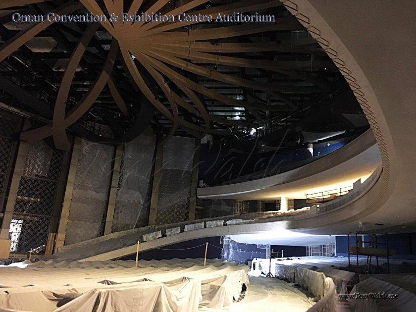 Oman Convention & Exhibition Centre Auditorium Interior