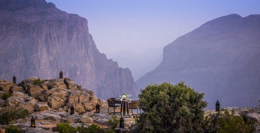 Anantara Al Jabal Al Akhdar Resort - Dining by Design - Cliff