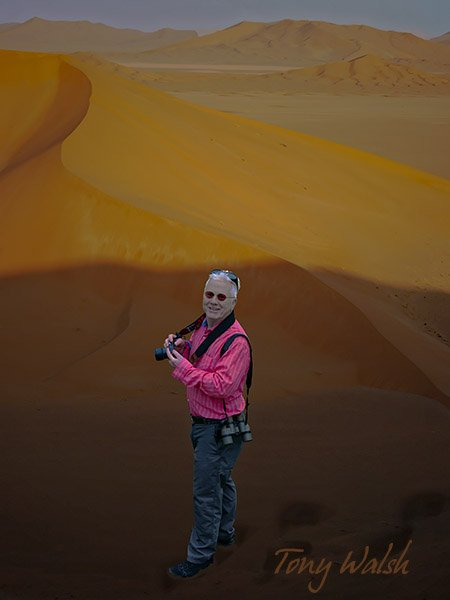 Tony Walsh Oman Desert