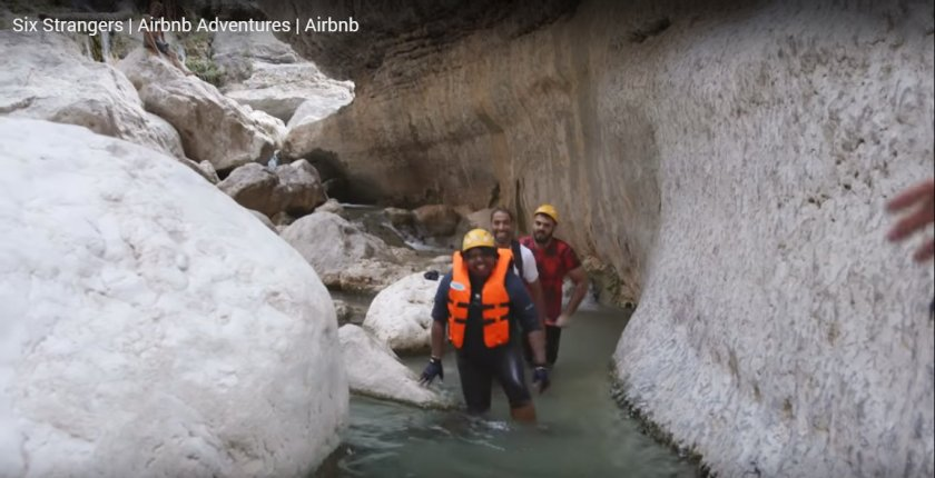 Patrice canyoning Airbnb Adventures