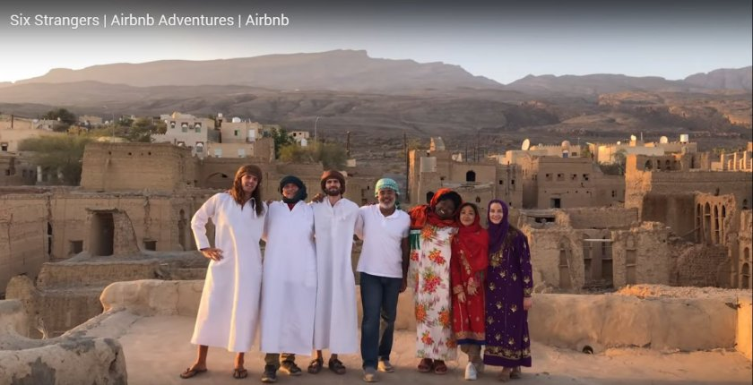 Six Strangers Airbnb Adventures in Oman
