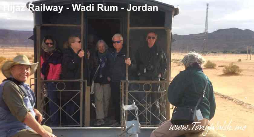 Hijaz Rail Wadi Rum Jordan