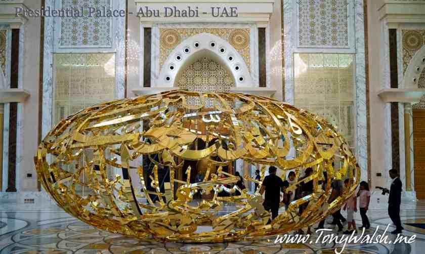 Presidential Palace - Abu Dhabi - UAE