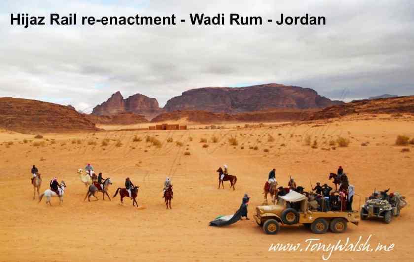 Wadi Rum re-enactment