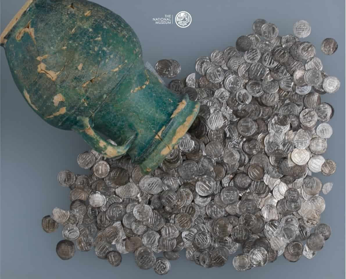 Sinaw Hoard of Silver Coins