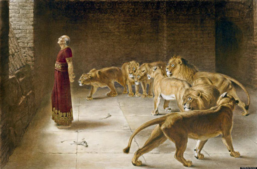 Daniel in the Lions' Den – Briton Riviere