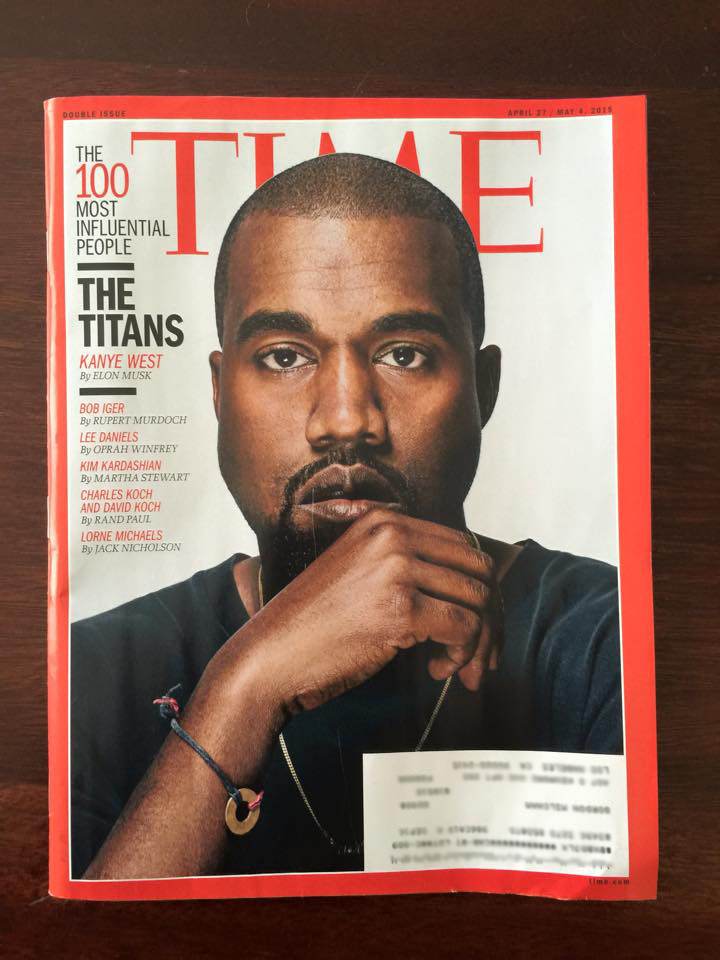 Time Magazine Most Influential People Issue 2015