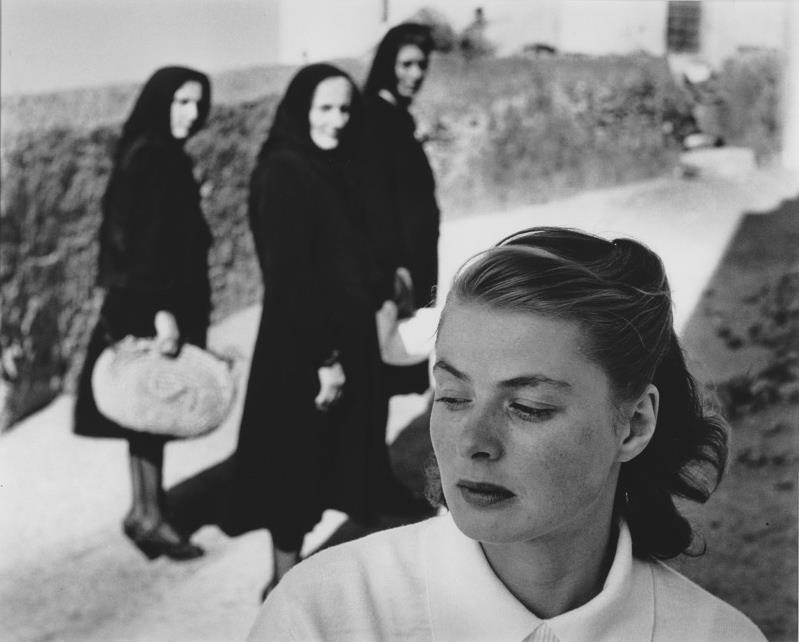 Ingrid Bergman by American photographer Gordon Parks