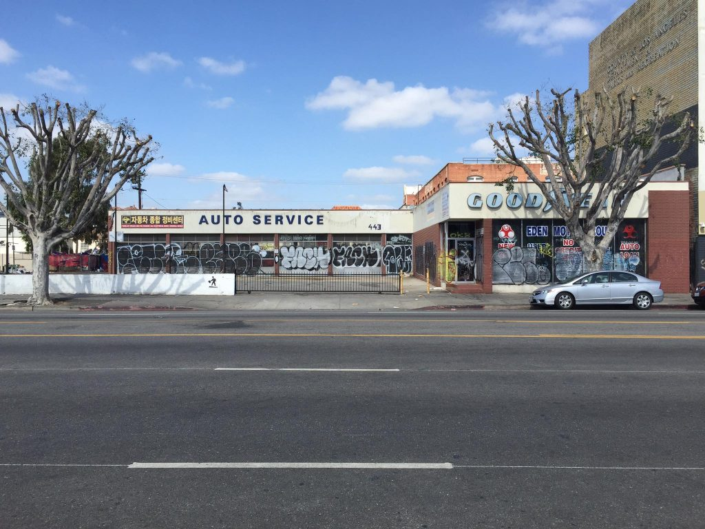 Closed Goodyear Shop on Vermont Avenue