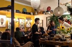 a cafe in Kadiköy