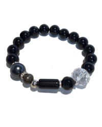 Classic Black Onyx with Silver 1