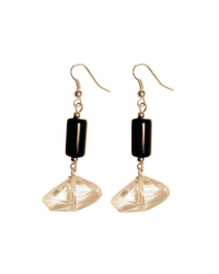 Geo-Crystal Onyx Earrings final