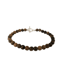 Tiny Tookey Simple Stone Bead Bracelet