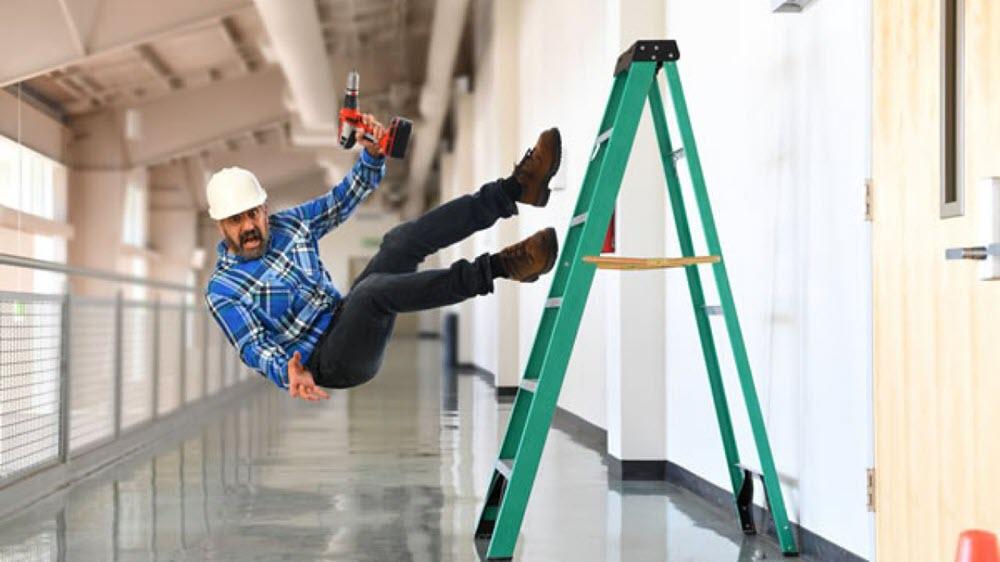 ladder safety toolbox talk