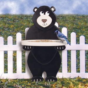 Feeder Plans SC1848 Bear Bird Feeder Woodworking Plans And Projects