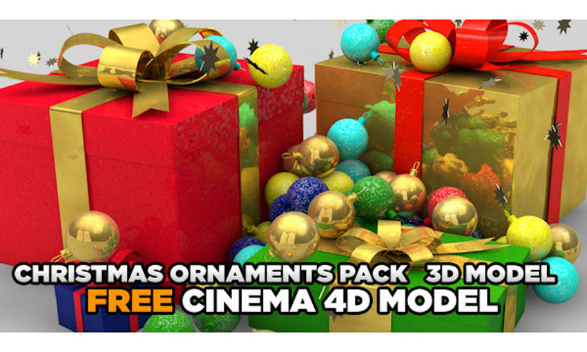 ornaments and packages