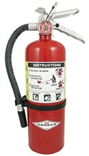 Amerex B500, 5lb ABC Dry Chemical Class A B C Fire Extinguisher