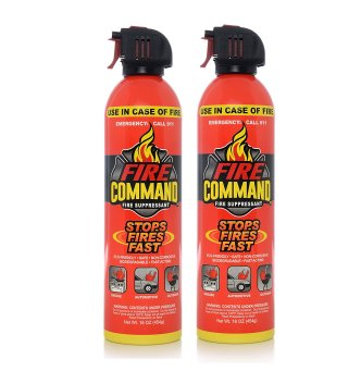 Fire Command Fire Extinguishing Foam Spray Fire Suppressant