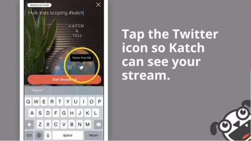 Katch - Get more from your Meerkat and Periscope streams (2)