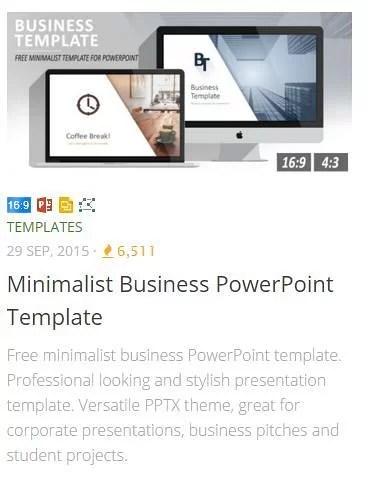 Templates - Free templates