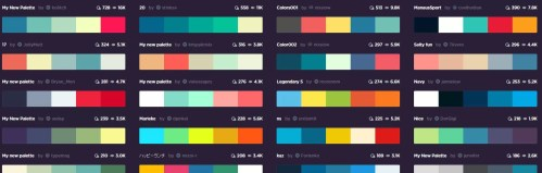 Coolors - The super fast color schemes generator! (9)