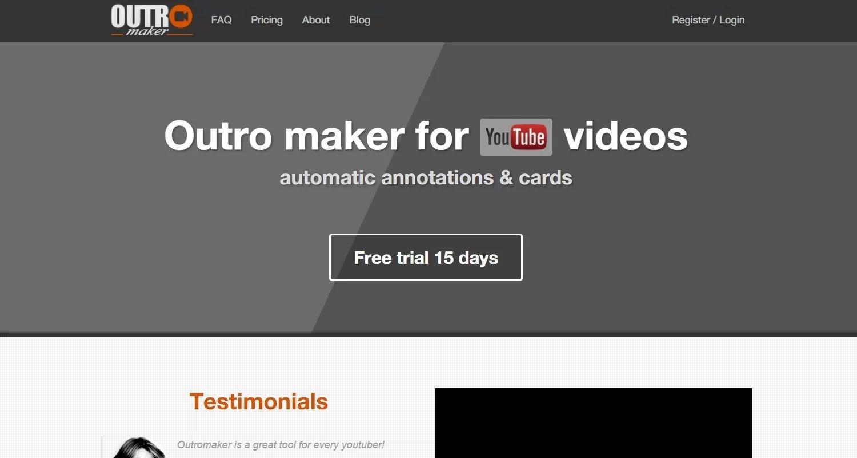 Outro Maker  Doping Per Il Tuo Canale Youtube