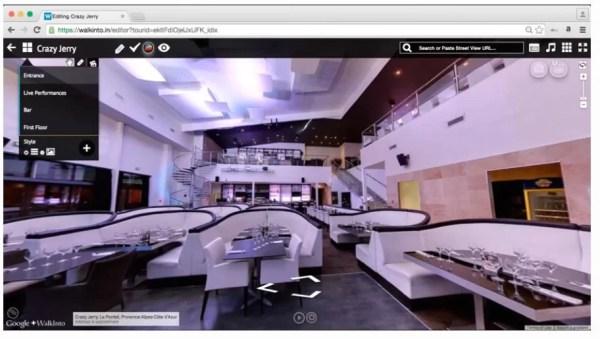 Walkinto, crea tour virtuali della tua attività