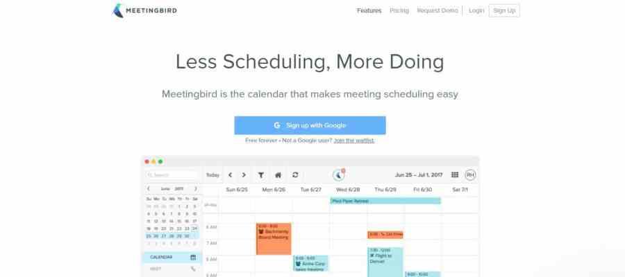 meetingbird-calendario