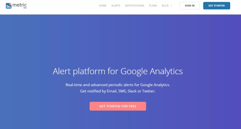 notifiche google analytics