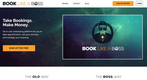 Book Like A Boss gestire appuntamenti