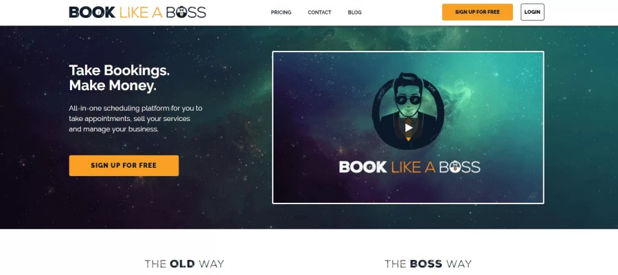 Book Like A Boss gestire appuntamenti
