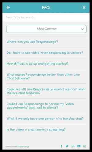 knowledge responsierge