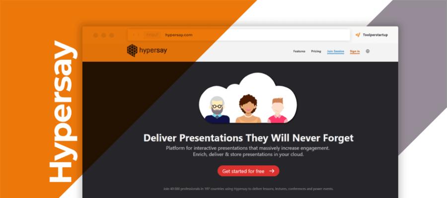 Hypersay presentazioni efficaci coinvolgono pubblico