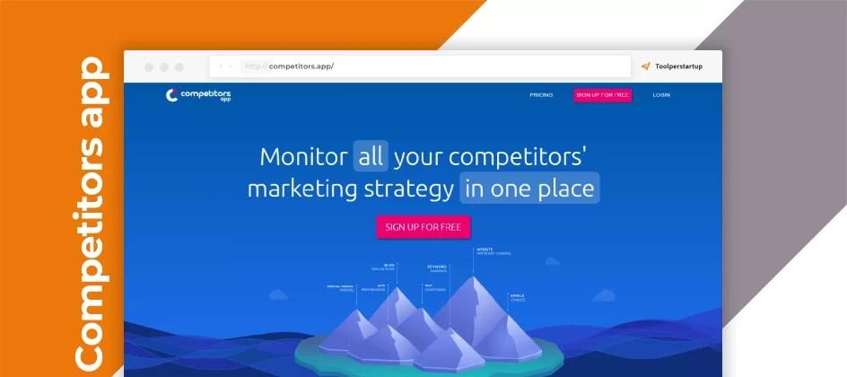 Tieni d'occhio i tuoi competitor sui canali online, Competitors.app