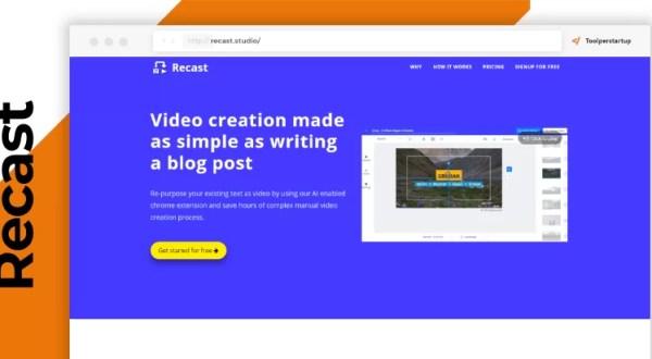 recast video semplice