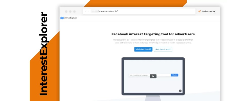 Interessi Facebook ads InterestExplorer