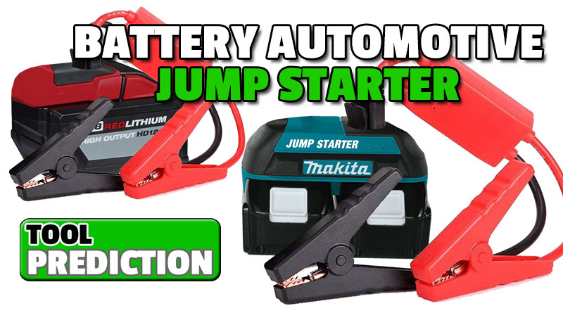 Could We See Tool Battery Powered Automotive Jump Starters?
