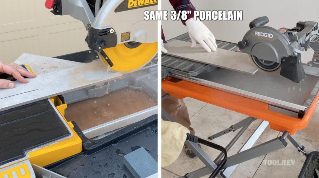 ridgid r4031s 7 wet tile saw toolrev