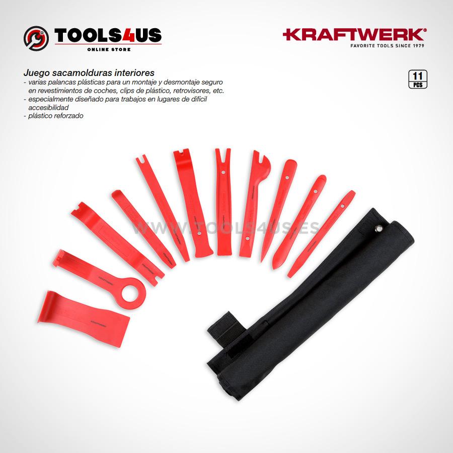 30808 KRAFTWERK herramientas taller barcelona espana Juego sacamolduras interiores 01 - Juego sacamolduras interiores