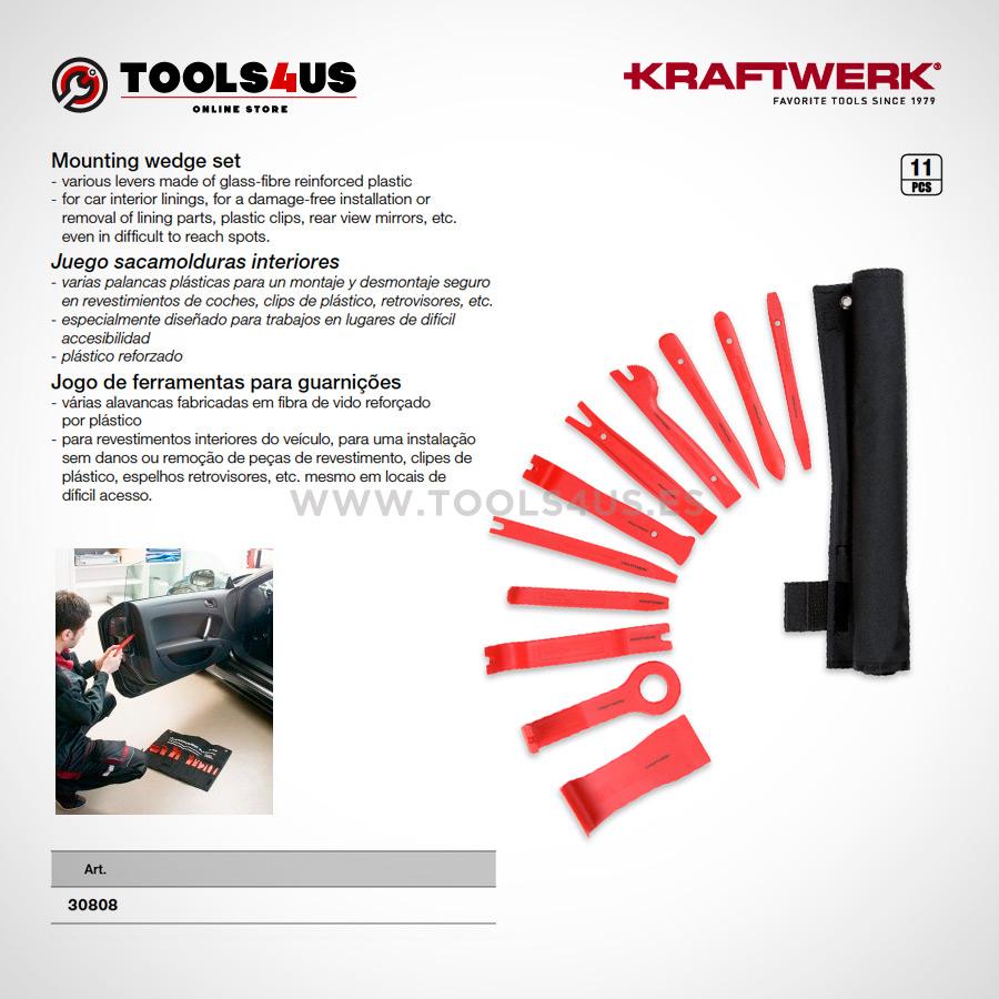 30808 KRAFTWERK herramientas taller barcelona espana Juego sacamolduras interiores 02 - Juego sacamolduras interiores
