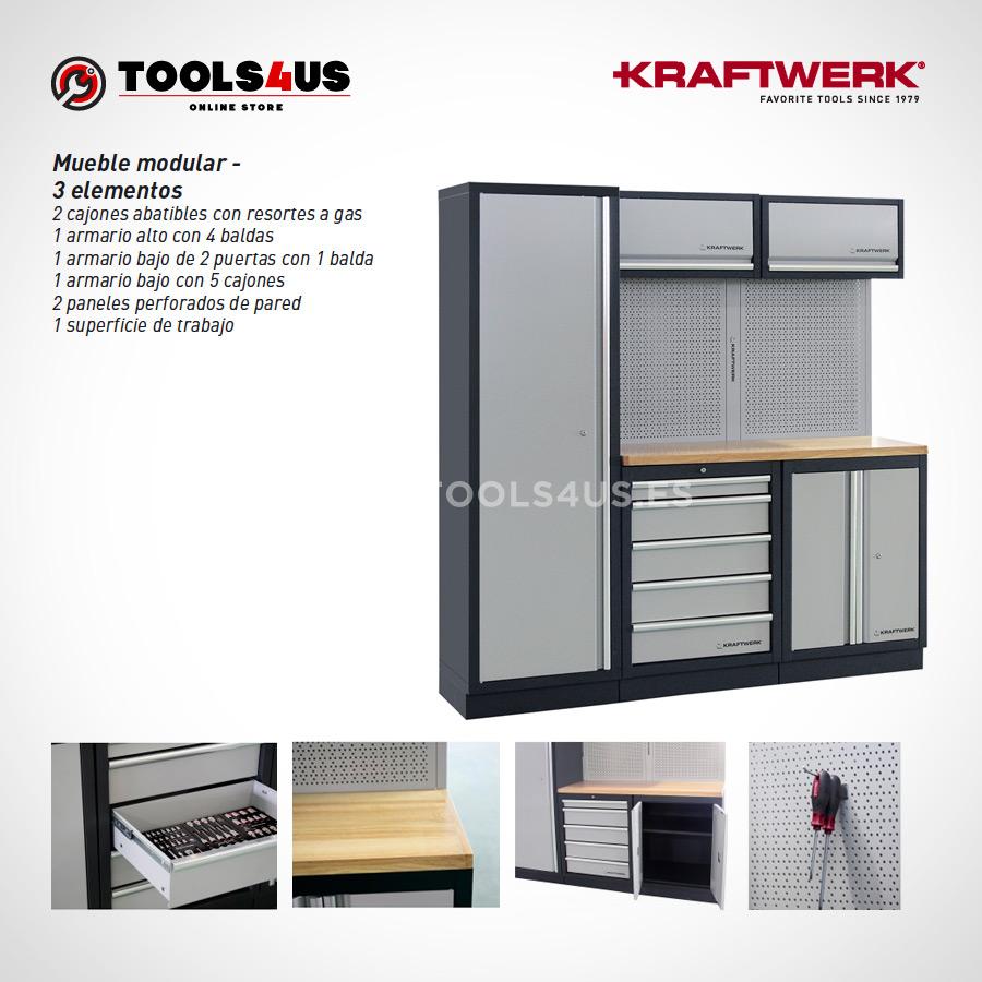 3964A Kraftwerk Mueble Modular Taller 3 Elementos 04 - Mueble Modular Taller 3 Elementos