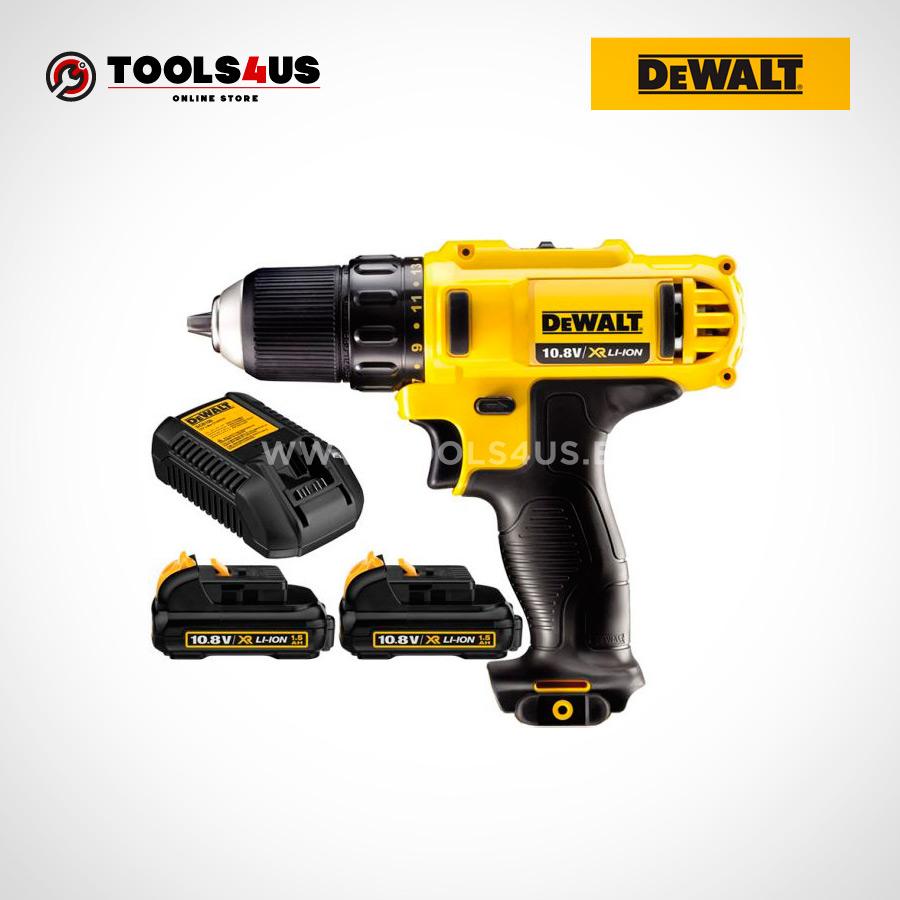 DCD710D2 QW DEWALT taladro atornillador a bateria 10 8v herramientas profesionales 02 - Taladro Atornillador 10.8V 2.0AH DeWalt DCD710D2-QW