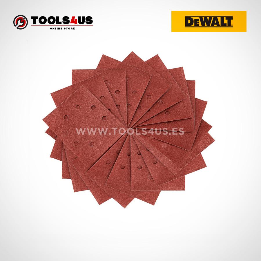 Hojas de Lija 14 Perforadas 8 Hoyos Circulares 25 unidades herramientas profesionales oferta online profesional 01 - Hojas de Lija 1/4  Perforadas - 8 Hoyos Circulares - 25 unidades