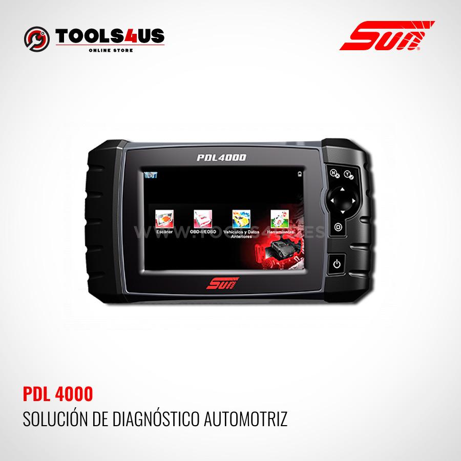 PDL4000 SUN SNAPON herramienta diagnosis general vehiculos taller coches multimarca - Modulo de Diagnósis Taller Multimarca PDL 4000 SUN