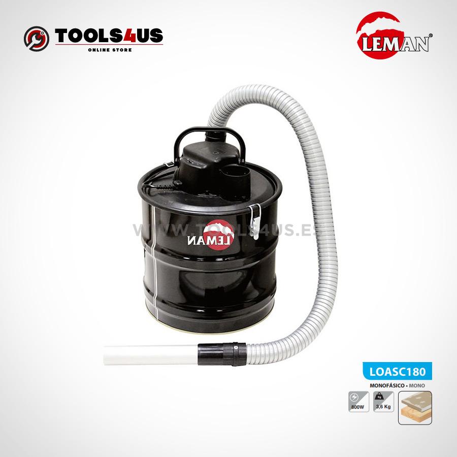 LOASC180 Aspirador especial ceniza 18L Leman 01 - Aspirador especial ceniza 18L Leman LOASC180