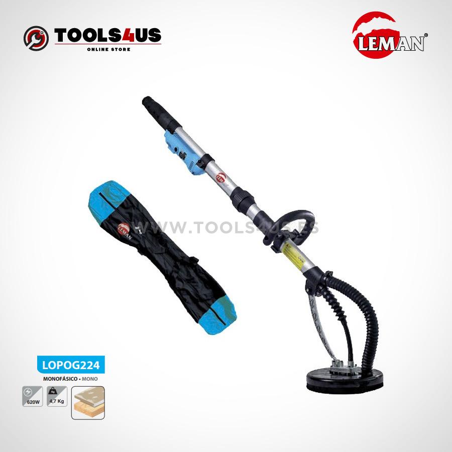 LOPOG224 Lijadora de Pared y Techo 225mm 620W Leman 01 - Lijadora de Pared y Techo 225mm 620W Leman LOPOG224