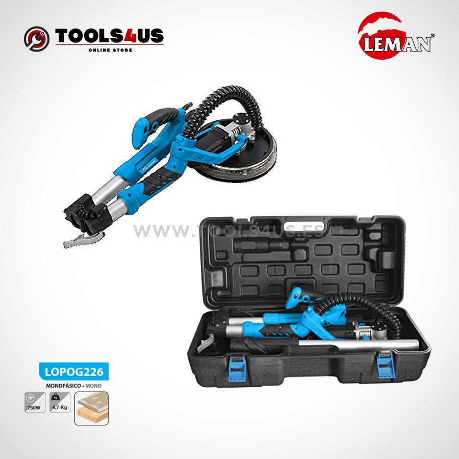 LOPOG226 Lijadora de Pared y Techo 225mm 620W Leman 02 - Lijadora de Pared y Techo 225mm 750W Leman LOPOG226