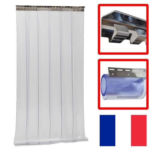 details sur rideau a lamelles pvc souple 2000x1000x2 2 m haut x 1 m large x 2 mm
